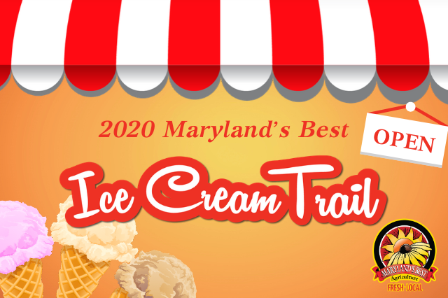 2020 Maryland's Best Ice Cream Trail
