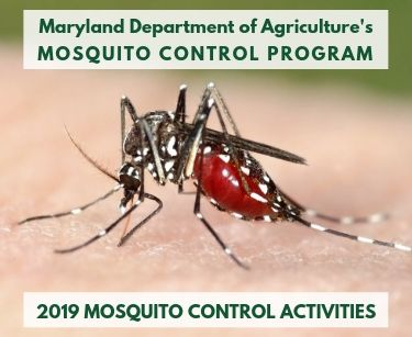 Maryland Department of Agriculture's Mosquito Control Program - 2019 Mosquito Control Activities