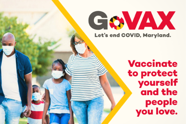 Maryland GoVax Campaign - Let's End COVID, Maryland