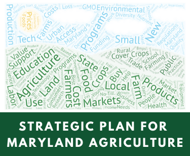 Strategic Plan for Maryland Agriculture