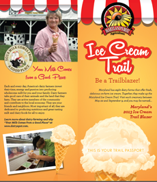 Ice Cream Trail Brochure