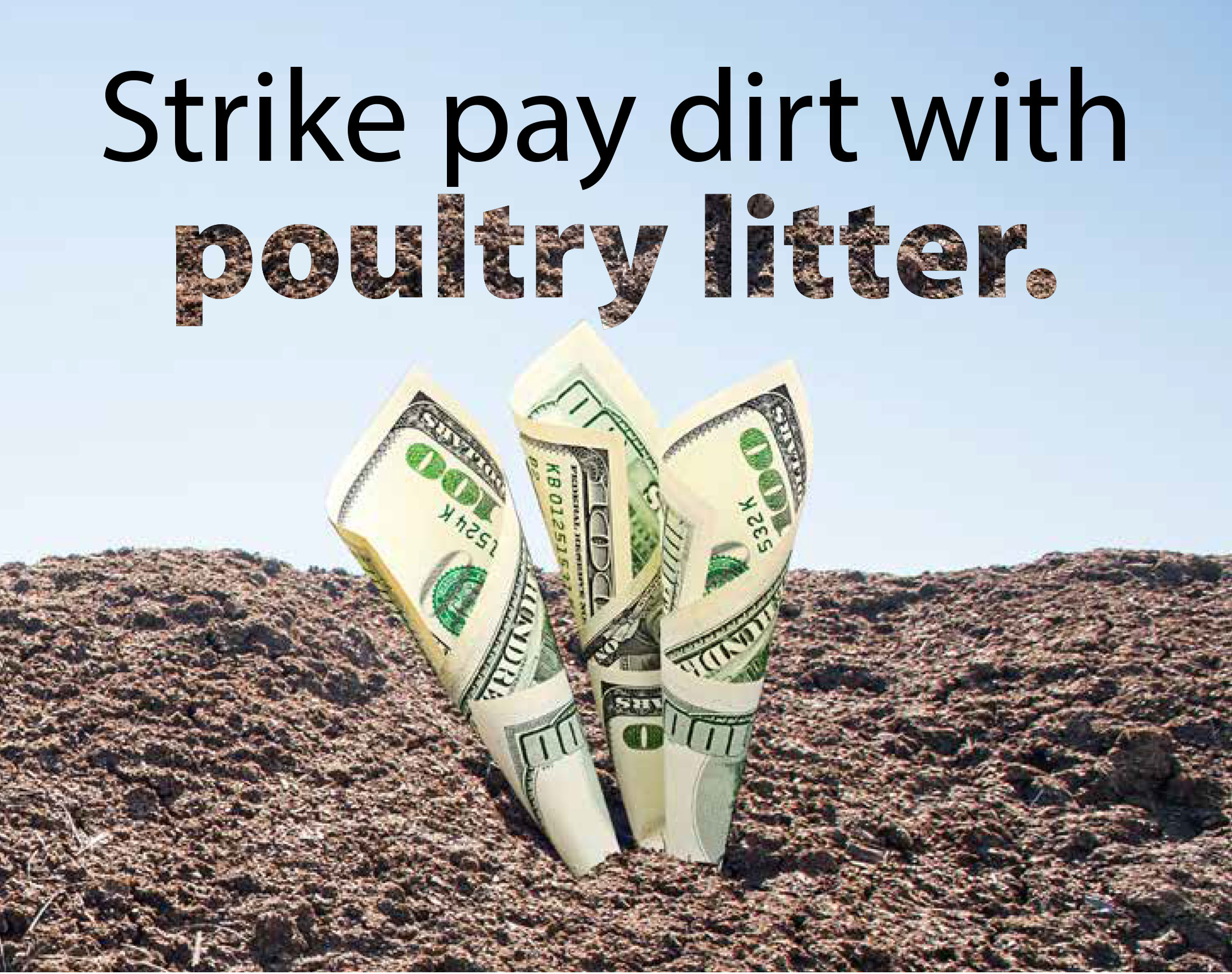 strike pay dirt with manure