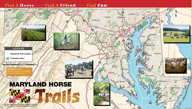 Maryland Horse Industry Board, riding trails, horse trails, horse,