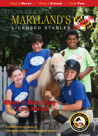 maryland licensed stables